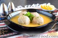Фото к рецепту: Тефтели в яично-лимонном соусе