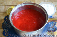 Фото приготовления рецепта: Конфитюр из клубники - шаг №4