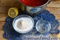 Фото приготовления рецепта: Конфитюр из клубники - шаг №5