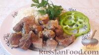 Фото к рецепту: Тушеная свинина с луком и морковью (гуляш из свинины)