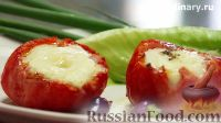 Фото к рецепту: Яйцо в помидоре, по-французски