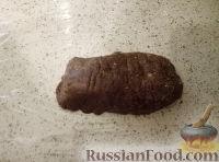 Фото приготовления рецепта: Сладкая колбаска со сметаной - шаг №6