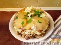 Фото к рецепту: Запеканка из рубленой говядины с картофелем