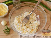 Фото приготовления рецепта: Запеченный картофель, фаршированный сыром фета - шаг №4