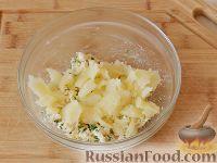 Фото приготовления рецепта: Запеченный картофель, фаршированный сыром фета - шаг №6