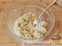 Фото приготовления рецепта: Запеченный картофель, фаршированный сыром фета - шаг №7