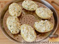 Фото приготовления рецепта: Запеченный картофель, фаршированный сыром фета - шаг №8