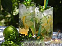 """Фото к рецепту: Алкогольный коктейль """"Мохито"""""""