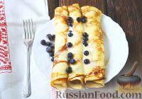 Фото к рецепту: Творожные блины