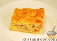 Фото к рецепту: Пирог с курицей и картофелем
