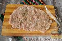 Фото приготовления рецепта: Бутерброды с мясом (в бутерброднице) - шаг №3