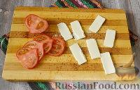 Фото приготовления рецепта: Бутерброды с мясом (в бутерброднице) - шаг №7