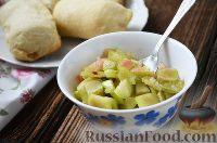 Фото к рецепту: Начинка из ревеня (для пирогов и пирожков)