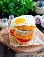 Фото к рецепту: Миланеса (аргентинский шницель) из курицы