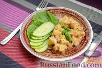 Фото приготовления рецепта: Жюльен с курицей и грибами - шаг №9