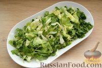 Фото приготовления рецепта: Кобб-салат с курицей - шаг №11