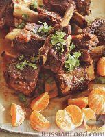 Фото к рецепту: Ребрышки с пряностями и апельсиновым соком