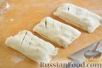 Фото приготовления рецепта: Слойки с черешней - шаг №6
