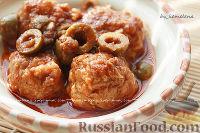Фото к рецепту: Рыбные фрикадельки по-алжирски (тажин)
