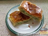 Фото к рецепту: Слойки с брынзой и зеленью