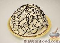 "Фото к рецепту: Торт ""Панчо"" с ананасами"
