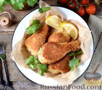 Фото к рецепту: Бакхендль (курица по-венски)
