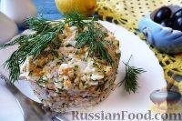 """Фото к рецепту: Салат """"Раковые шейки"""""""