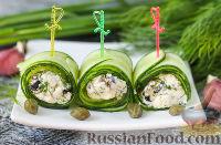 Фото к рецепту: Роллы из огурцов