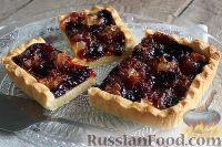 Фото к рецепту: Песочный пирог с вареньем