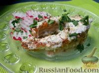 Фото к рецепту: Рыба, жаренная со сметаной