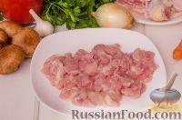 Фото приготовления рецепта: Паста с курицей в томатном соусе - шаг №2