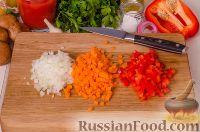 Фото приготовления рецепта: Паста с курицей в томатном соусе - шаг №3