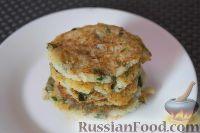 Фото к рецепту: Картофельные драники с зеленью