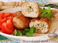 Фото к рецепту: Котлеты из свинины, с горчичным маслом