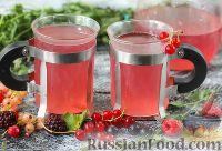 Фото к рецепту: Ягодный чай с мёдом
