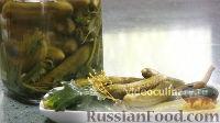 Фото к рецепту: Солёные огурцы