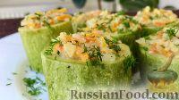 Фото к рецепту: Фаршированные кабачки по-монастырски