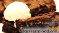 Фото к рецепту: Брауни с орехами