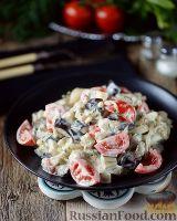 Фото к рецепту: Салат из баклажанов и яиц