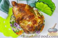 Фото к рецепту: Курица гриль (в духовке)