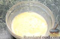 """Фото приготовления рецепта: Пирог """"Вишневый сад"""" с вишней - шаг №3"""