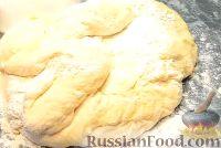 """Фото приготовления рецепта: Пирог """"Вишневый сад"""" с вишней - шаг №8"""