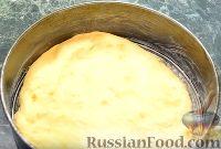 """Фото приготовления рецепта: Пирог """"Вишневый сад"""" с вишней - шаг №9"""