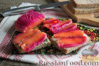 Фото к рецепту: Гравлакс из красной рыбы