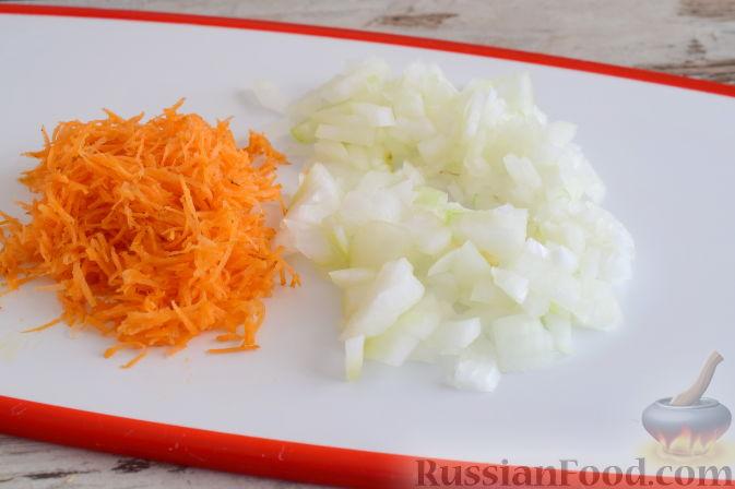 Фото приготовления рецепта: Овсяный крамбл с апельсинами и заварным кремом - шаг №5