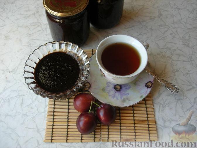 Фото приготовления рецепта: Варенье сливово-шоколадное - шаг №5