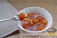 Фото к рецепту: Варенье из белой черешни, с лимоном