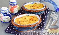 Фото к рецепту: Мидии, запеченные в соусе Морней