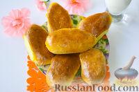 Фото к рецепту: Пирожки с ливером и рисом (в духовке)