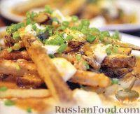Фото к рецепту: Печеный картофель с острой подливкой